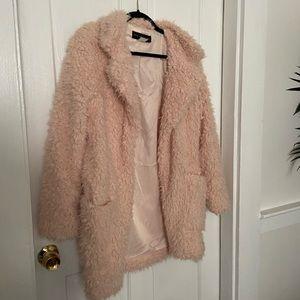 Blush Sherpa jacket